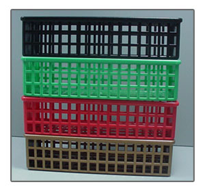 Injection Molded Plastic Baskets
