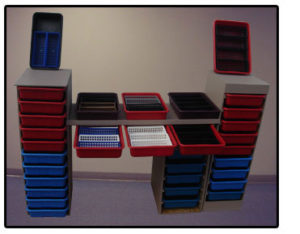 Injection Molded Custom Portable Storage Units